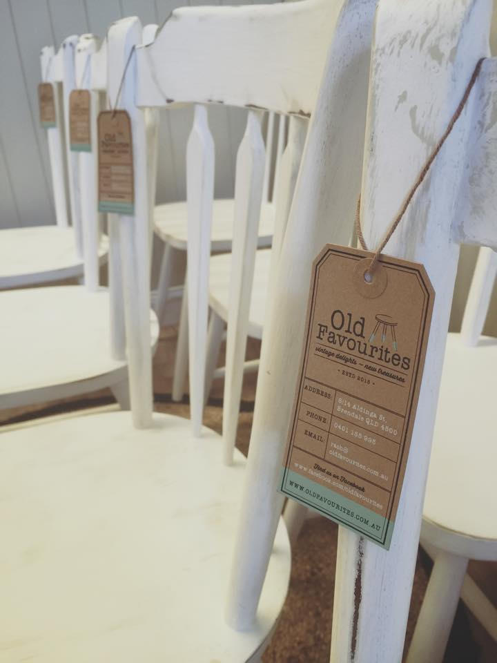tag sample on chair