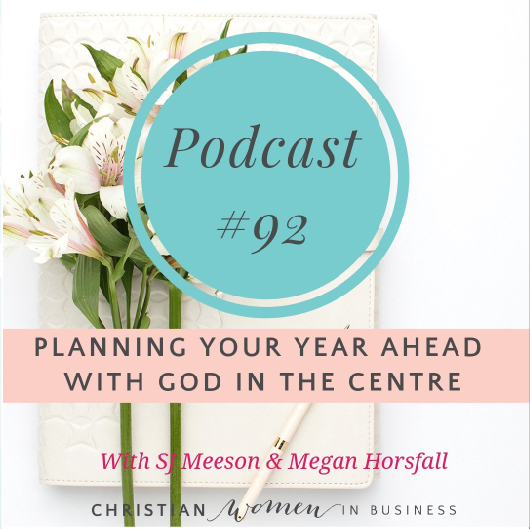 planning your year ahead with god in the centre